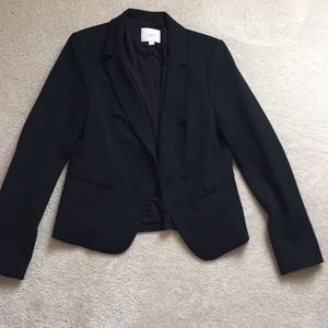 Loft easy-care black lined blazer